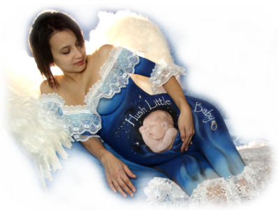 Belly Painting - Hush Little Baby